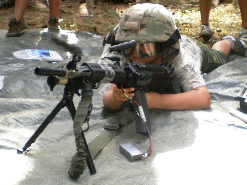 Army tábor MASH