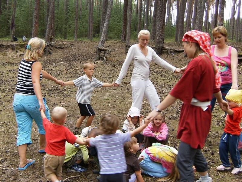 Tábor pro rodiče s dětmi