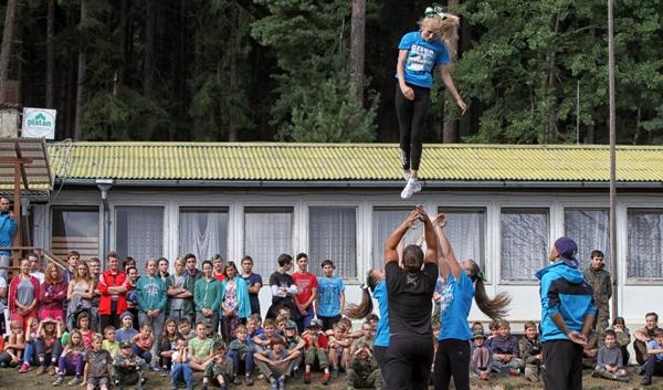 Cheerleadingový tábor
