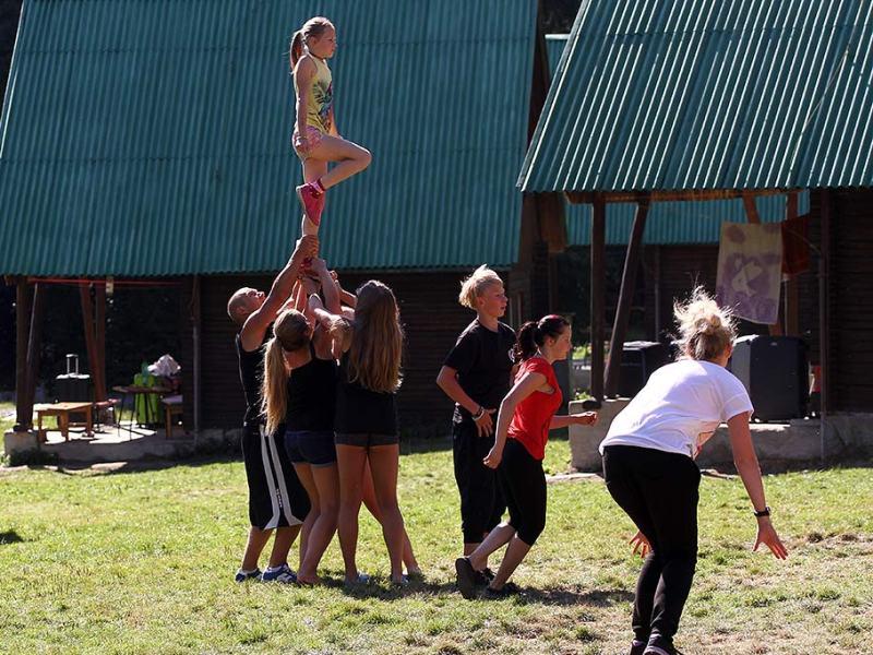 Letní tábory OKO Eldorádo Ceerleadingový tábor