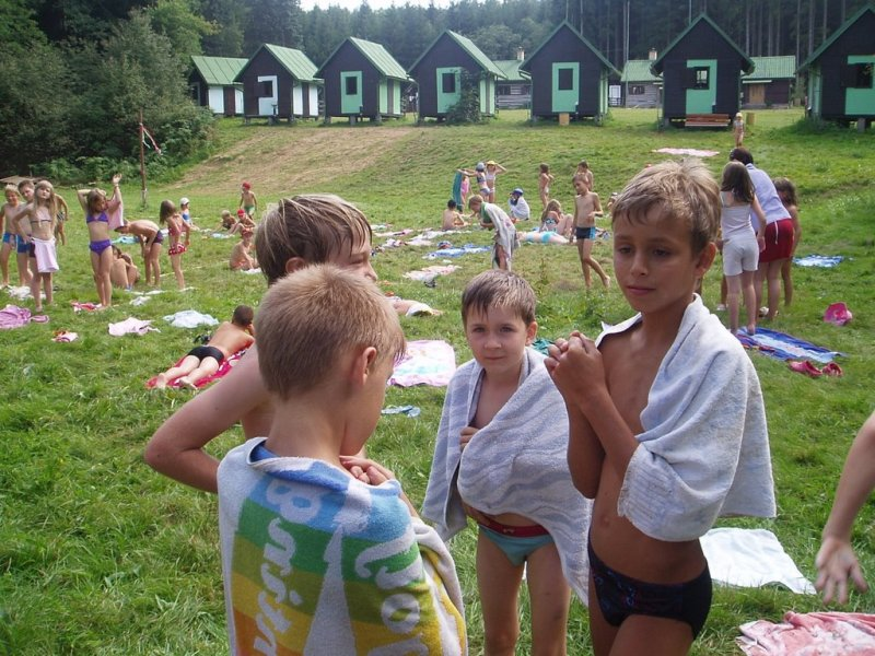 Tábor Trhová Kamenice - Chrudimka