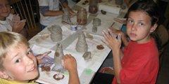 Výtvarný a keramický tábor