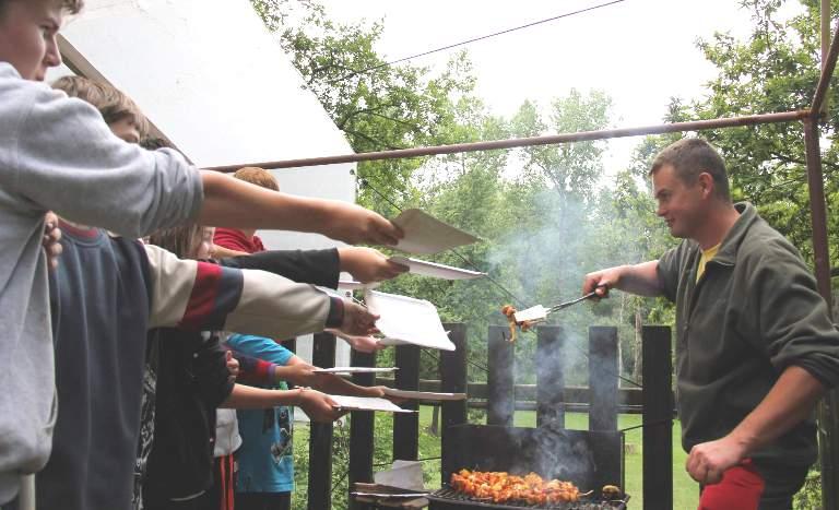 Vaření na táboře