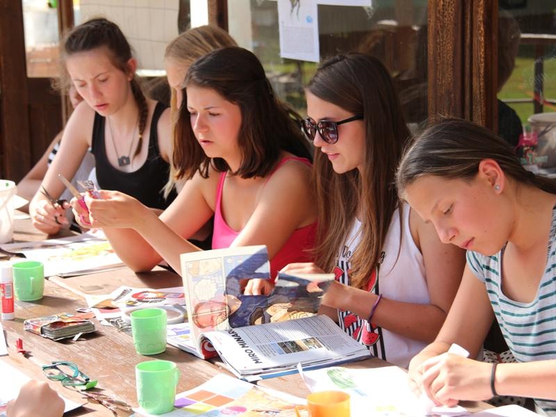 Letní tábory OKO Eldorádo Dívčí tábor