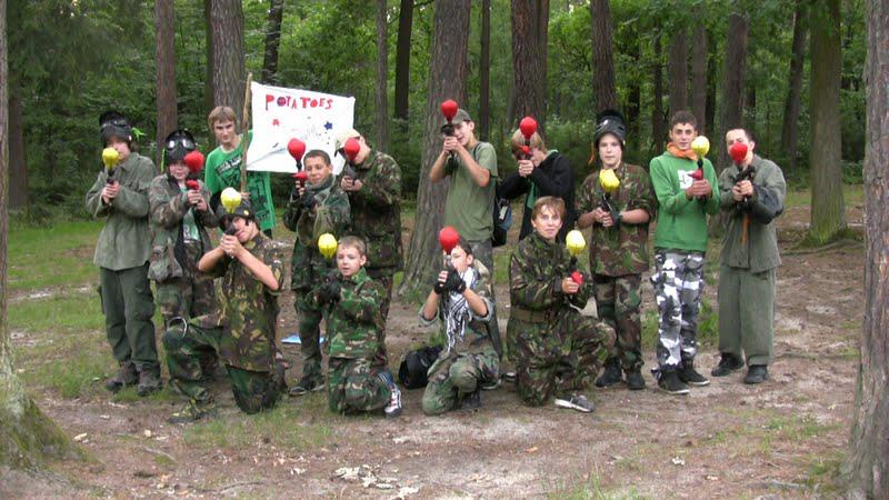 Paintballový tábor