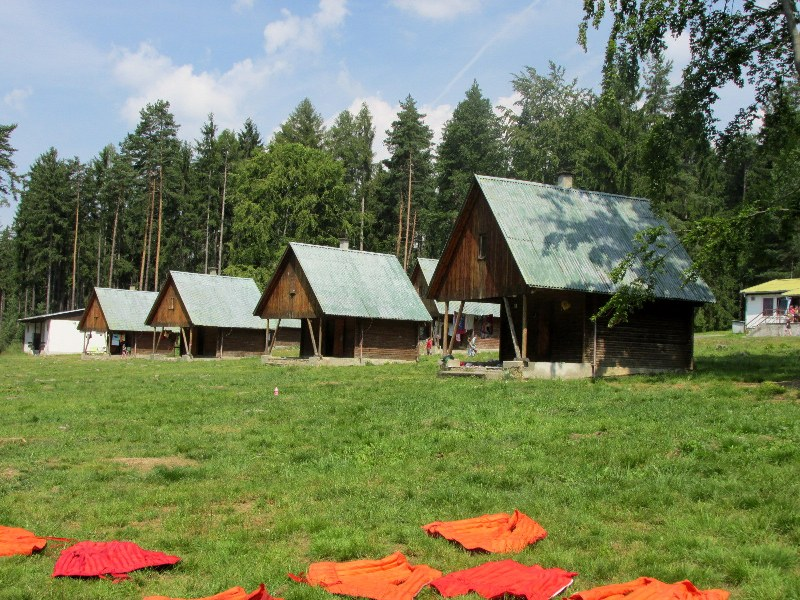 Tábor Podolí I u Písku v jižních Čechách