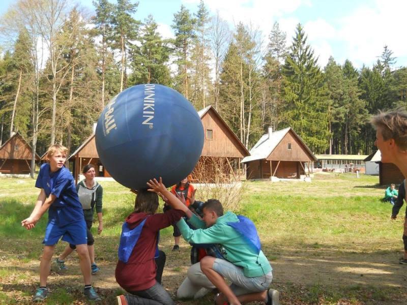 areál tábora Podolí I Jižní Čechy