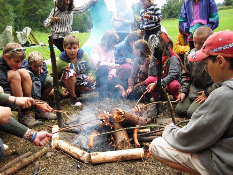 Tábor OKO Odhalené záhady a tajemství přírody