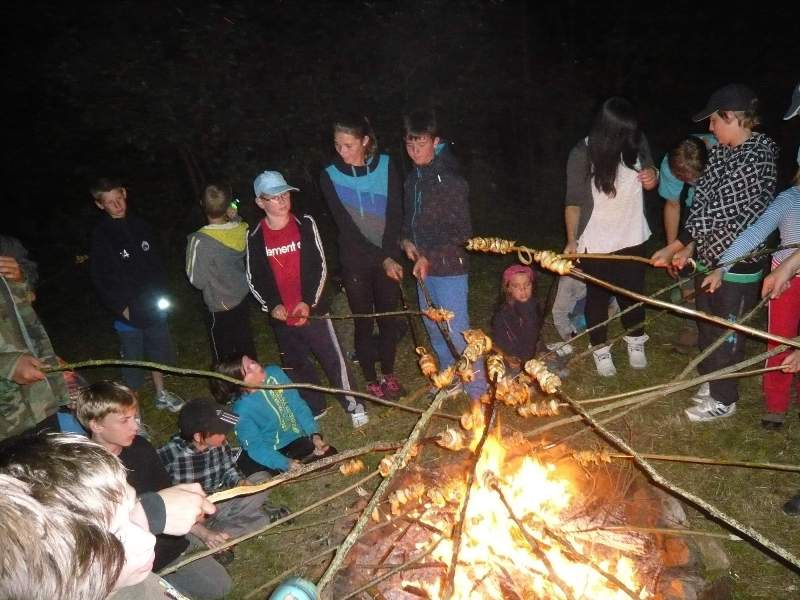 Tábor OKO Survival Tábor přežití
