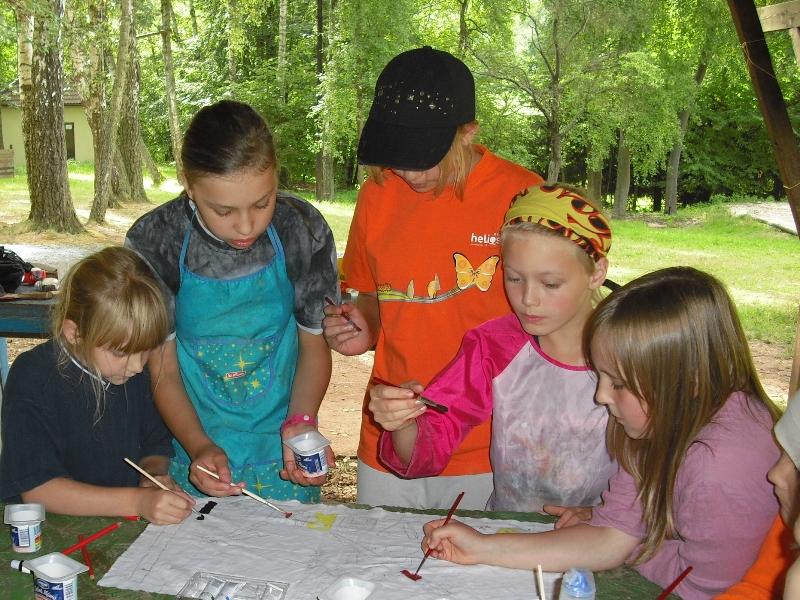 Výtvarný tábor v přírodě
