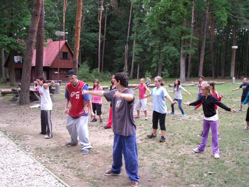 Taneční tábor OKO 2013