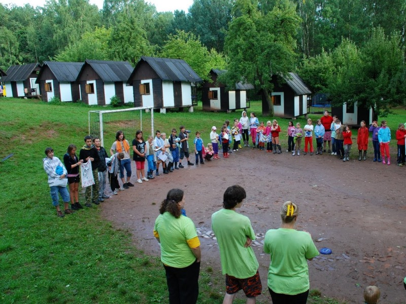 Tábor OKO - tábor Sopka Nová Paka