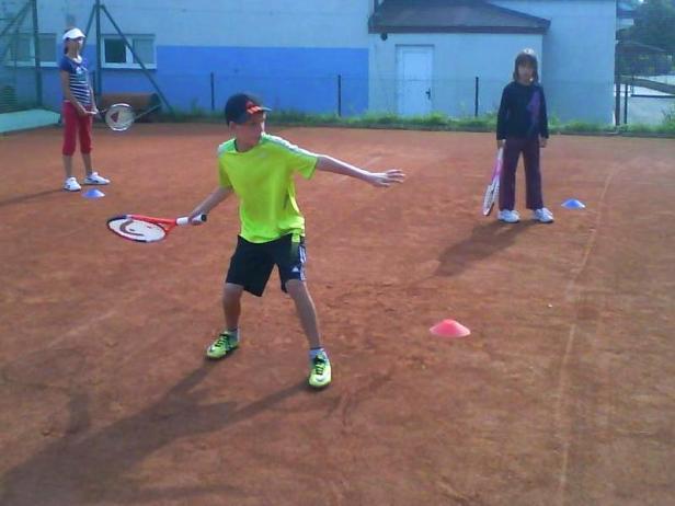tenisový tábor 2012