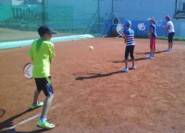 tenisový tábor 2013