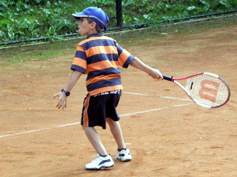 tenisový tábor